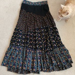 Beautiful patchwork maxi skirt